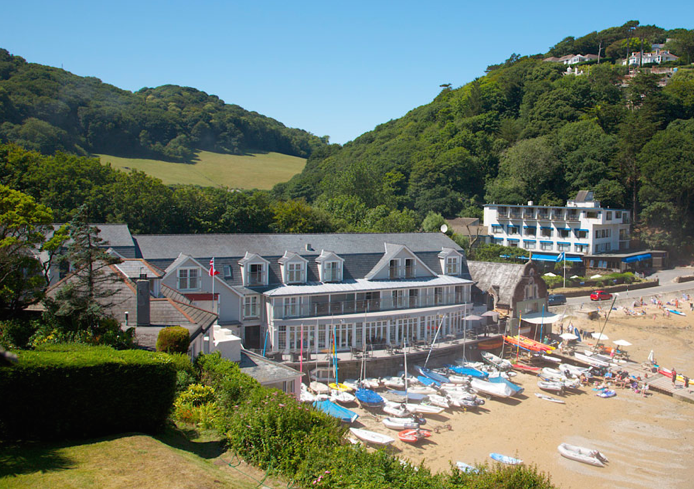 South sands boutique hotel hudson 39 s choice dog friendly for Best boutique hotels devon